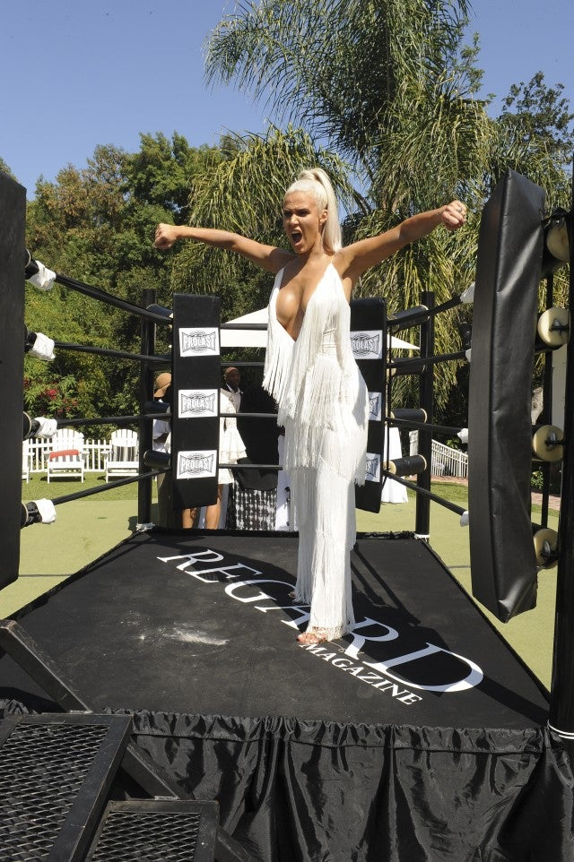 WWE Diva CJ Lana Perry, Regard Magazine Pre-ESPY's event