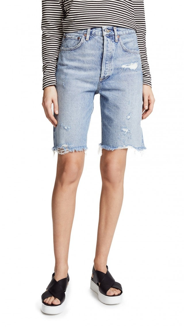 AGOLDE denim short
