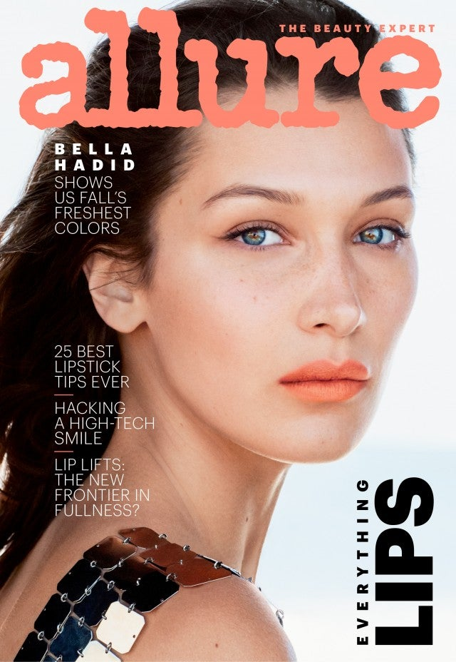 Bella Hadid Allure cover