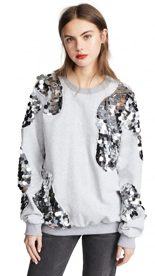 Anouki sequin sweatshirt