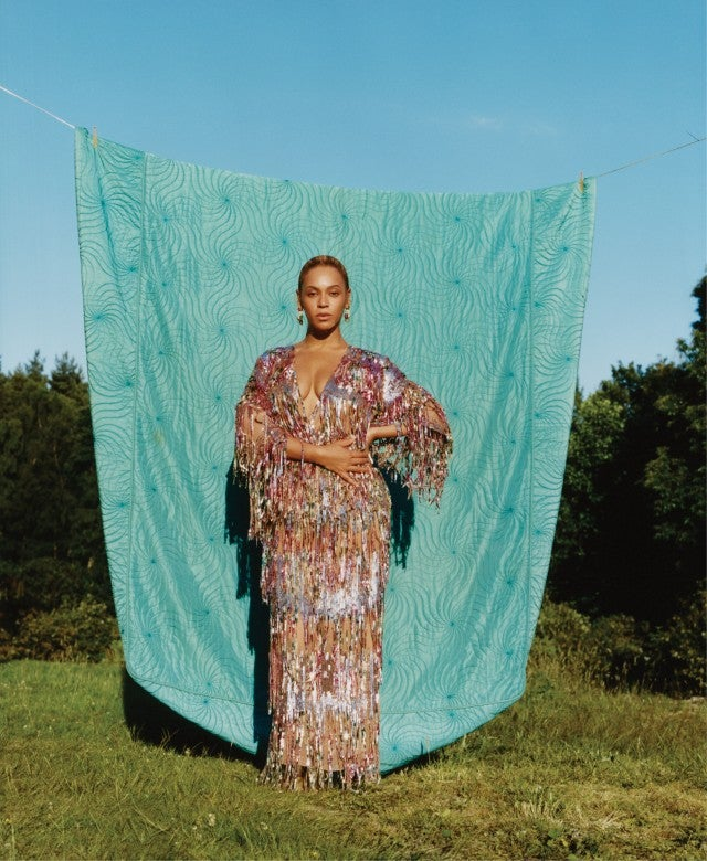 Beyonce in Vogue's September 2018 issue