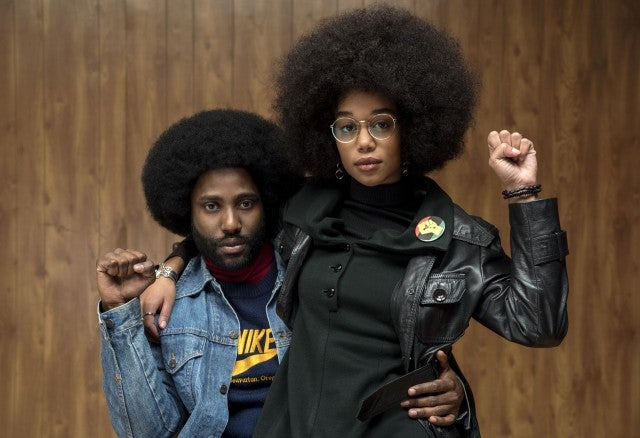 BlacKkKlansman, John David Washington, Laura Harrier
