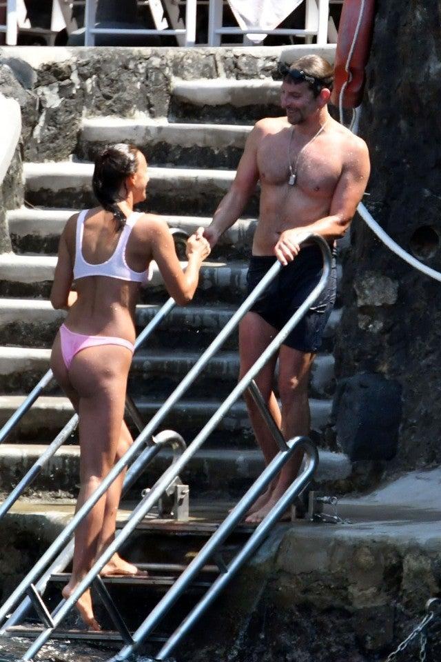 Bradley Cooper and Irina Shayk in Italy.