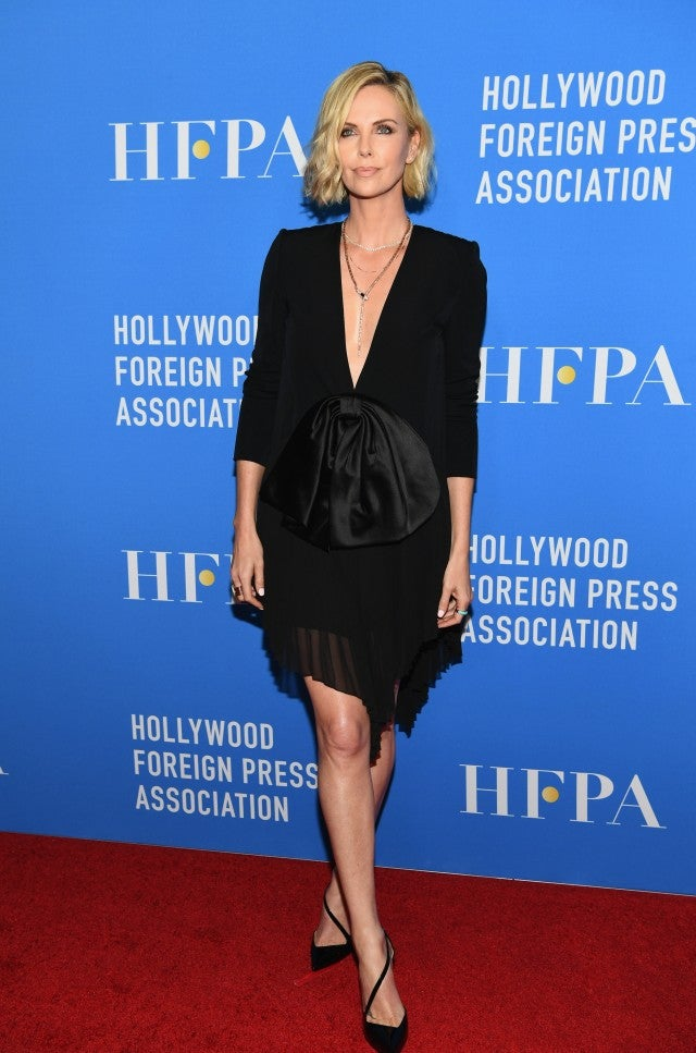 Charlize Theron HFPA Event