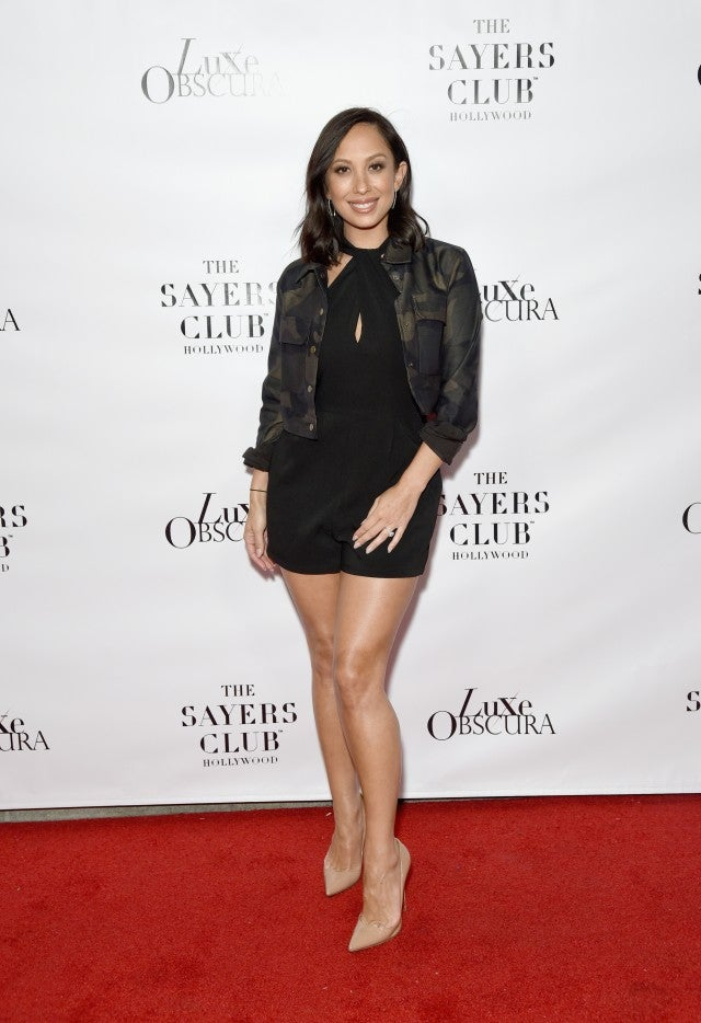 Cheryl Burke Luxe Obscura launch party