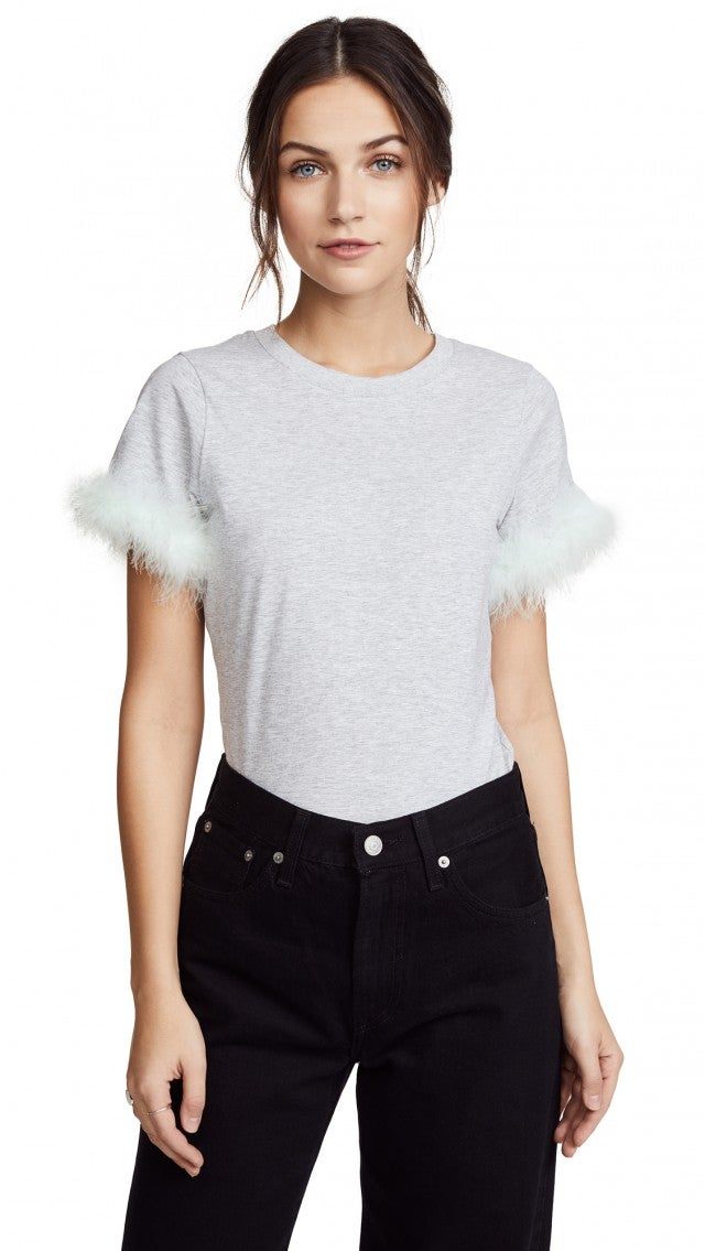 Cinq a Sept feather tee