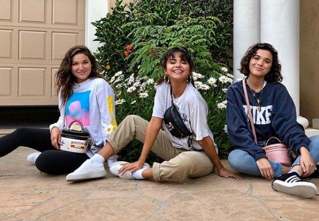 Selena Gomez Enlists Her Friends to Model New Handbag Line ... 74ba784b3aff0