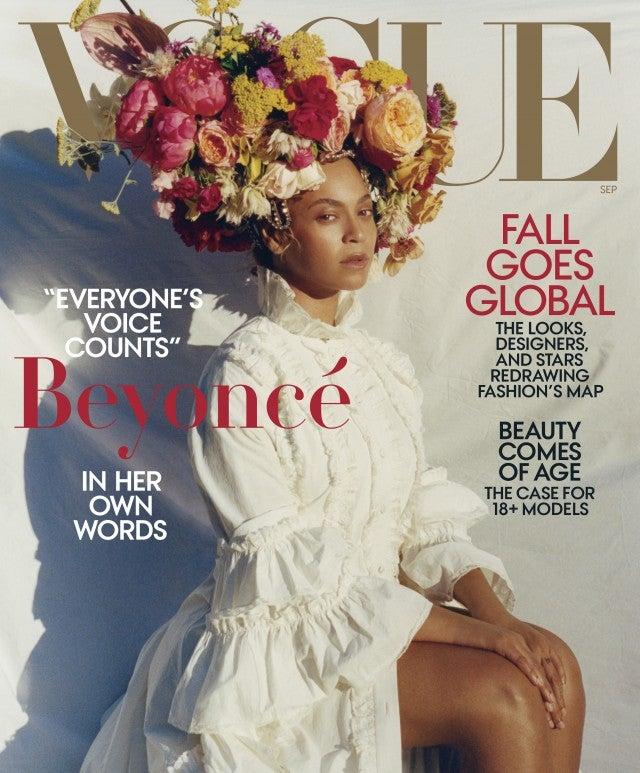 Beyonce Vogue