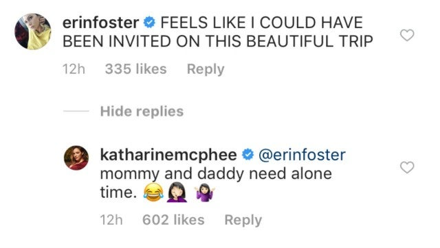 Erin Foster comment