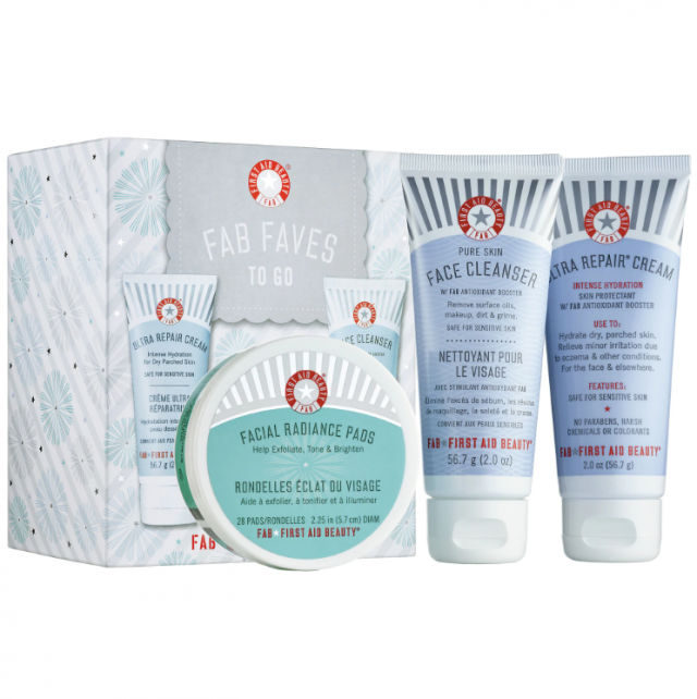 First Aid Beauty travel set