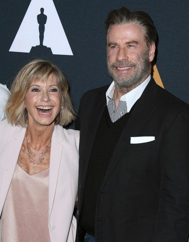 John Travolta and Olivia Newton-John Reunite at 'Grease