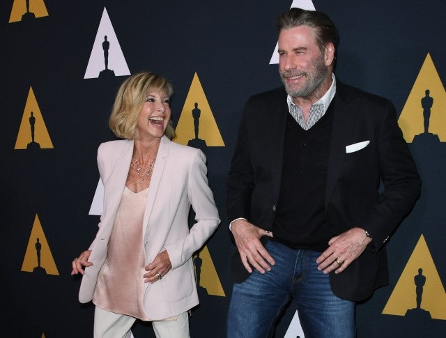 John Travolta and Olivia Newton-John Reunite at 'Grease' 40th