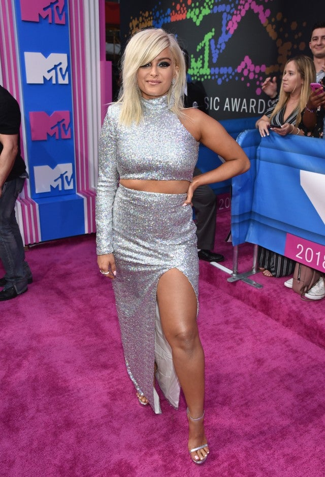 Bebe Rexha at 2018 mtv vmas