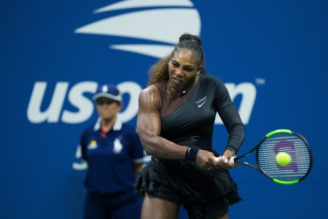 Serena Williams in Off-White at US Open