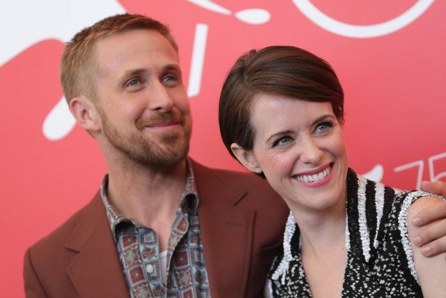 Ryan Gosling and Claire Foy