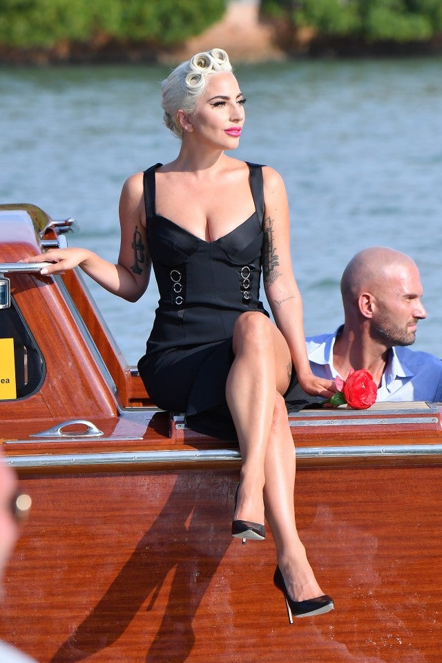 Lady Gaga at Venice Film Festival