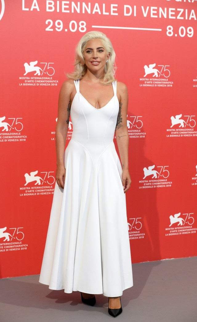 Alaia Azzedine Dresses >> Every Jaw-Dropping Look Lady Gaga Has Worn For the 'A Star Is Born' Press Tour | Entertainment ...