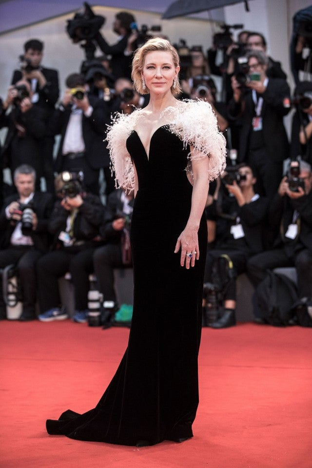 Cate Blanchett at A Star Is Born premiere