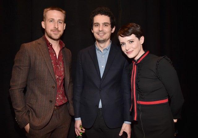 Ryan Gosling, Damien Chazelle, Claire Foy