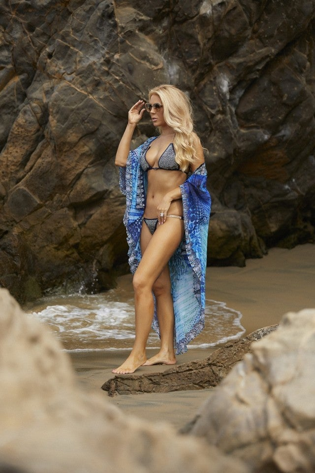 Gretchen Rossi in AmandaLouise Swimwear