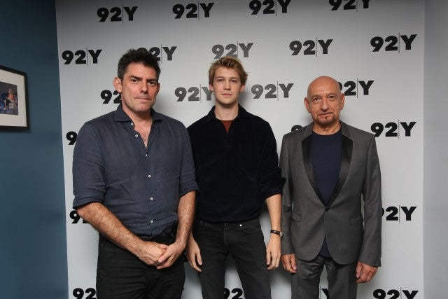 Sir Ben Kingsley, Joe Alywyn, and Chris Weitz