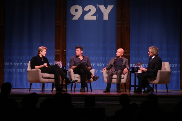 Sir Ben Kingsley, Joe Alywyn, Chris Weitz and Thane Rosenbaum