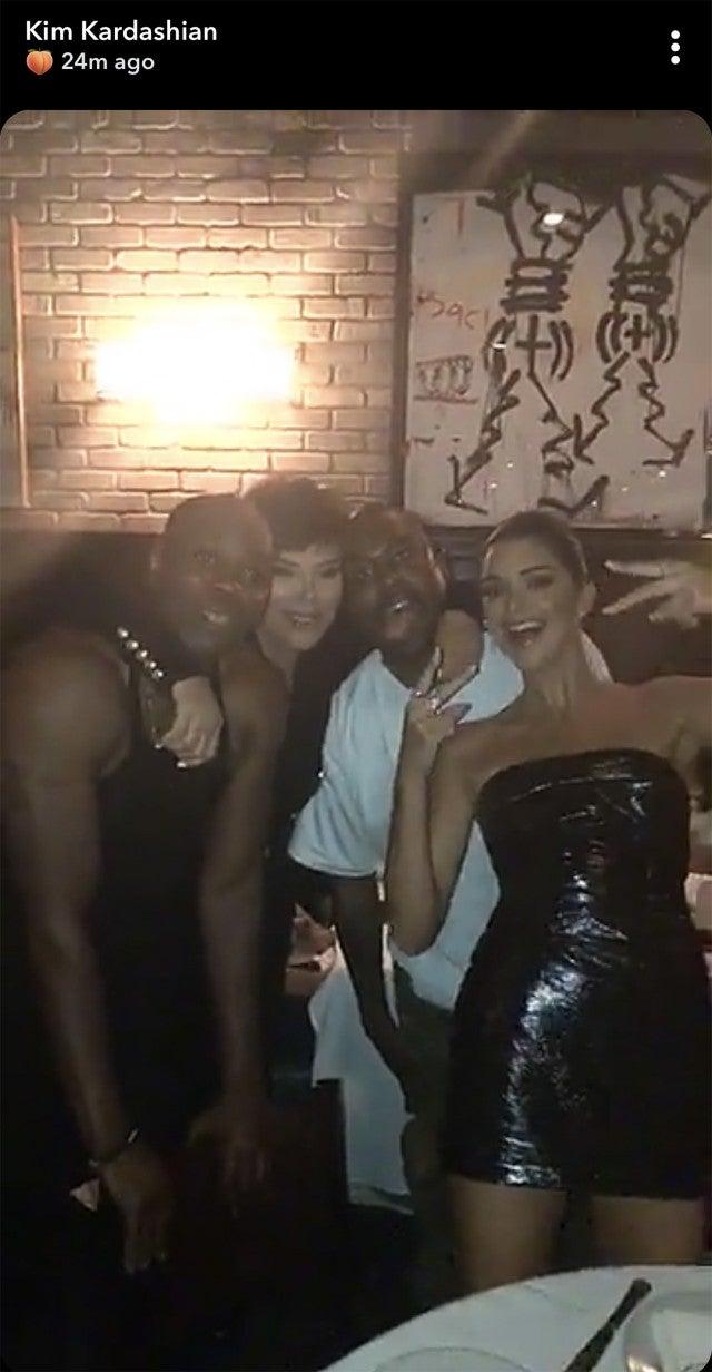 Dave Chappelle, Kris Jenner, Kanye West, Kendall Jenner