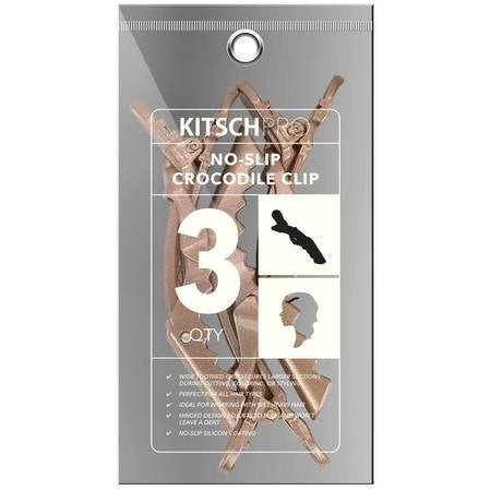 Kitsch no slip clips in rose gold
