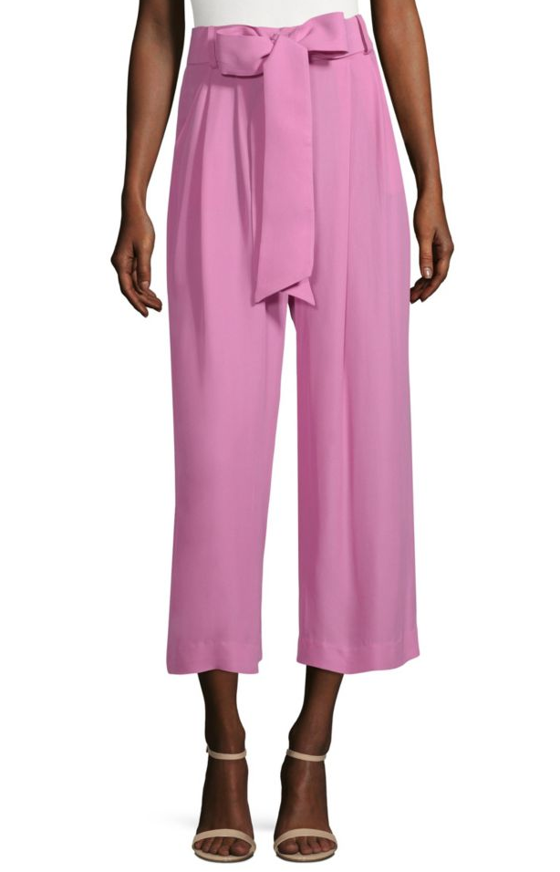 Milly pink pants