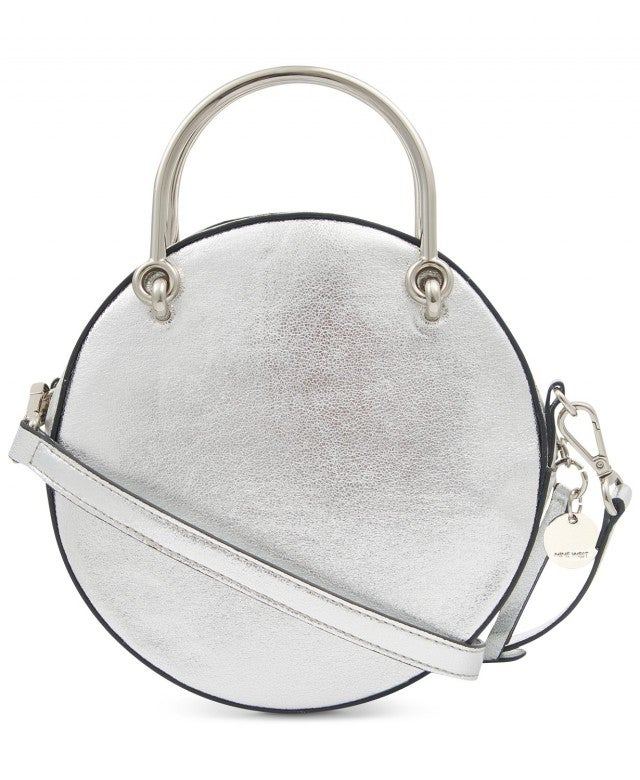 Nine West silver circle bag