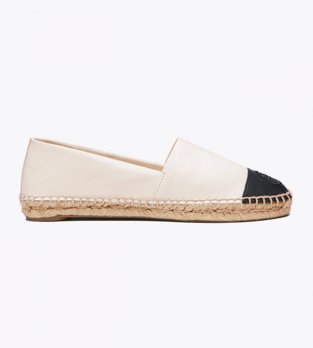 Tory Burch white espadrilles