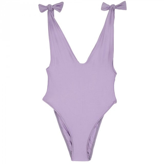 Sidway lavender one-piece
