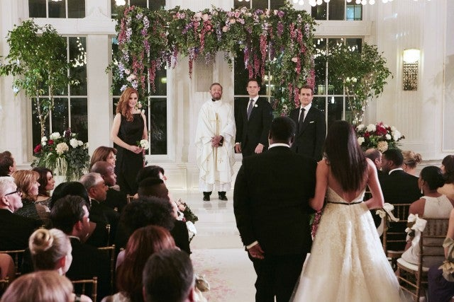 Suits wedding