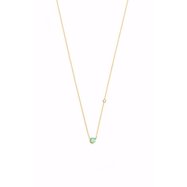 Tai opal necklace