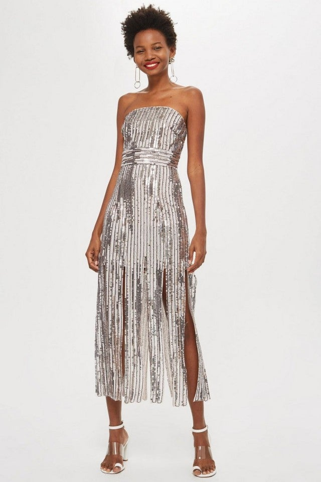 Topshop sequin dress