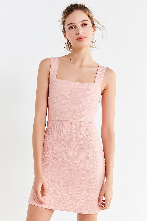 Urban Outfitters pink mini dress