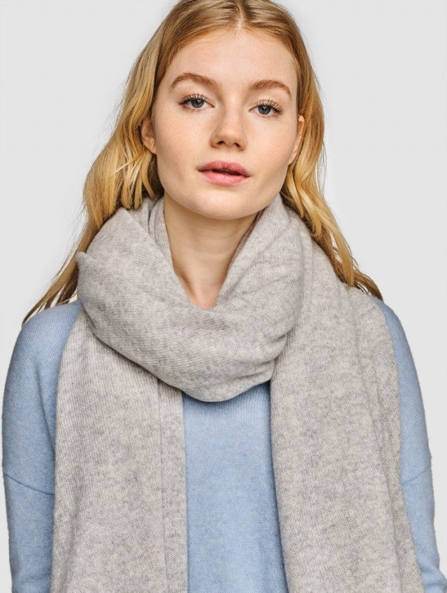 White and Warren cashmere scarf