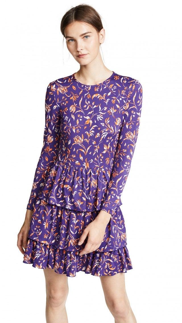 Baum Und Pferdgarten purple printed dress