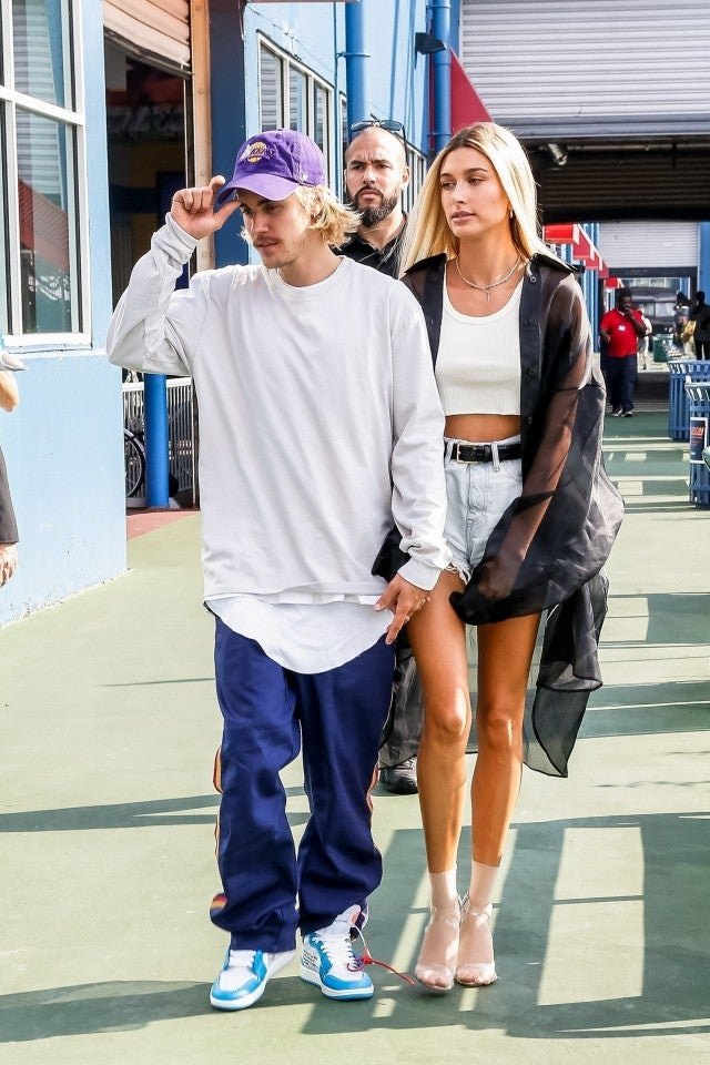 Justin Bieber and Hailey Baldwin John Elliott show NFYW backgrid