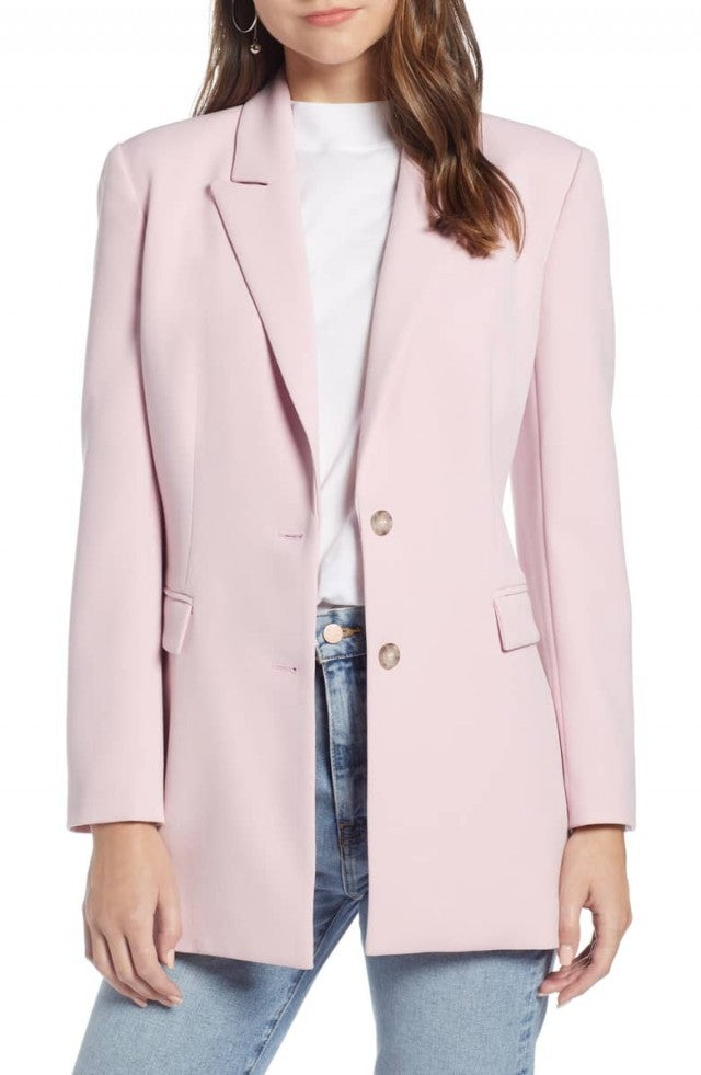 Something Navy pink blazer