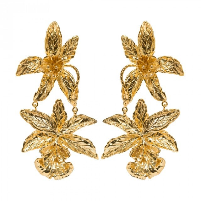 Christie Nicolaides gold earrings