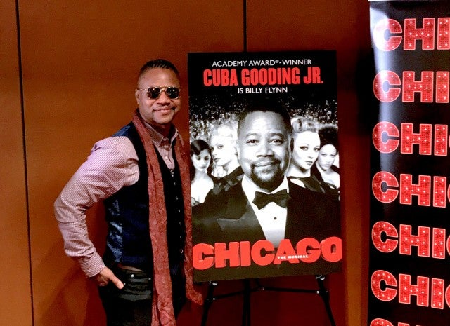 Cuba Gooding Jr. 'Chicago' on Broadway