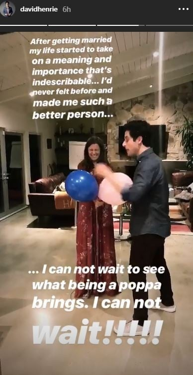 David Henrie Gender Reveal