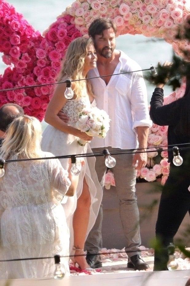 Denise Richards Wedding