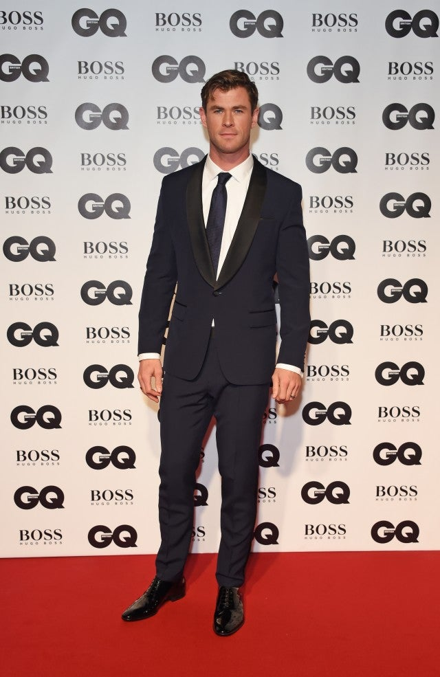 Chris Hemsworth GQ Men of the Year Awards
