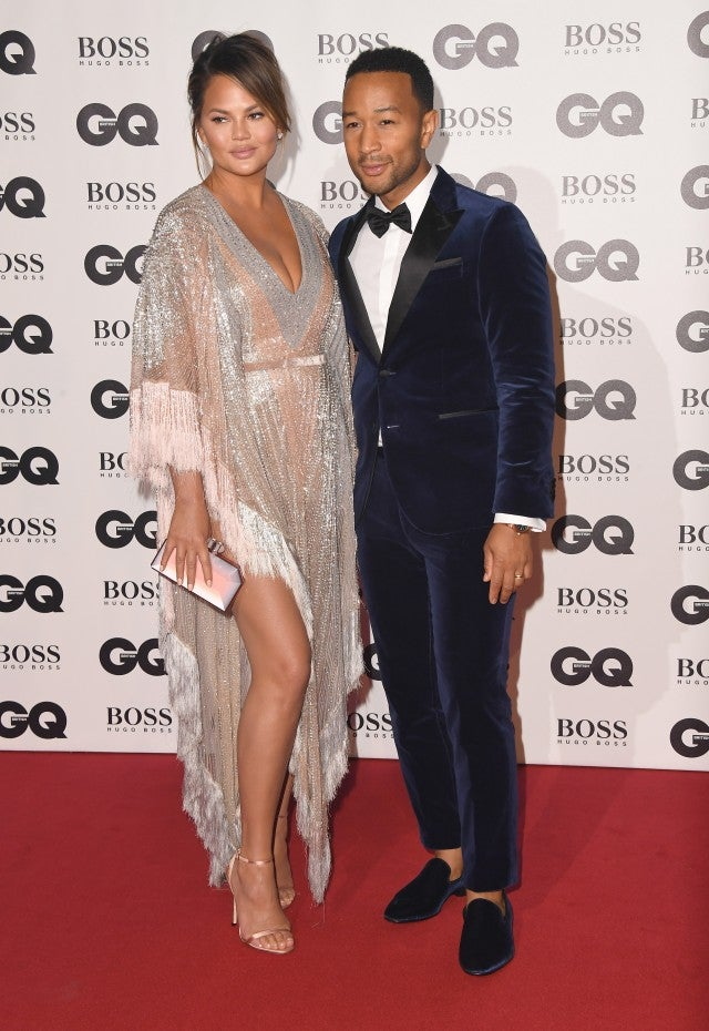 Chrissy Teigen John Legend GQ Men of the Year Awards 2018