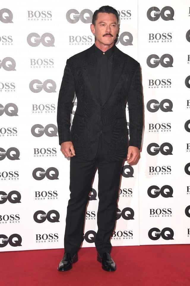 Luke Evans GQ Men of the Year Awards