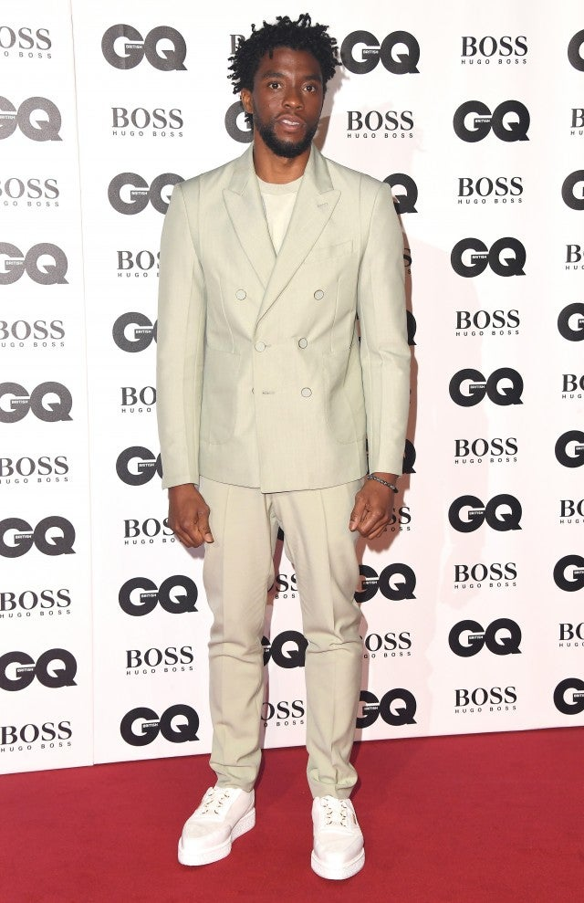 Chadwick Boseman GQ Men of the Year Awards