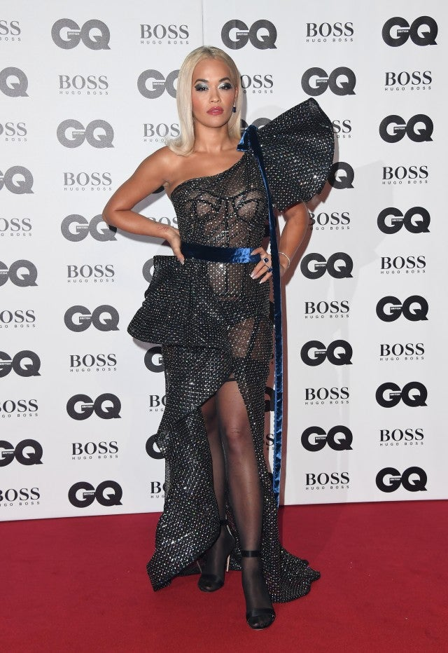 Rita Ora 2018 GQ Men of the Year Awards