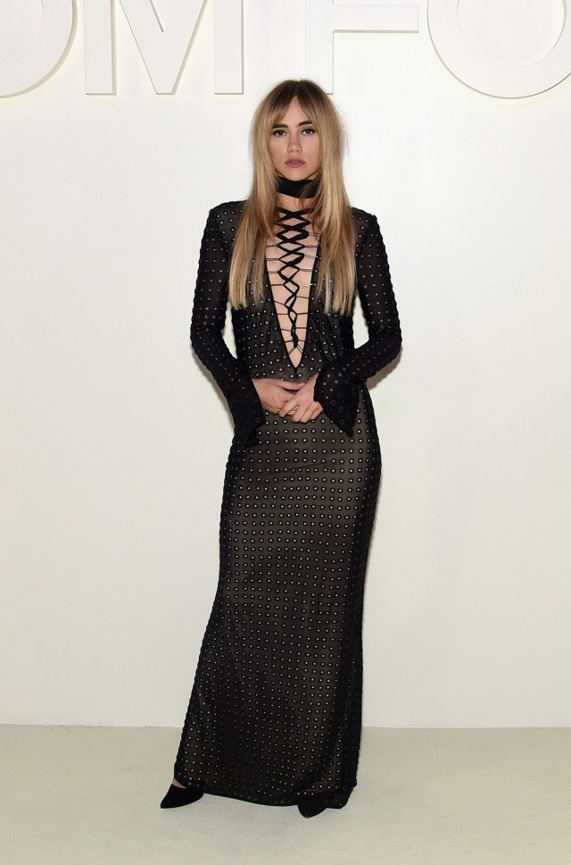 Suki Waterhouse Tom Ford NYFW